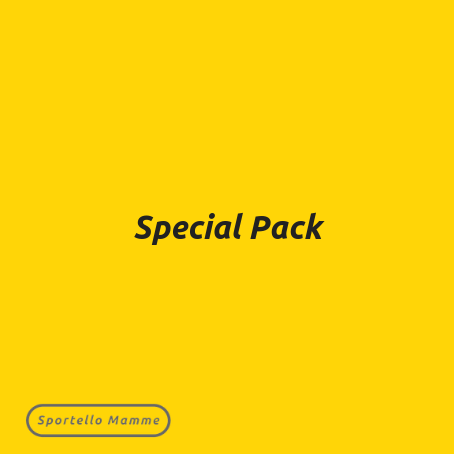 Special Pack Sportellomamme